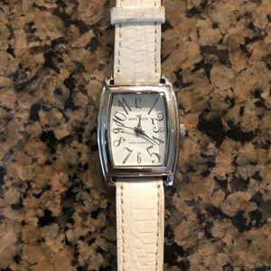 White Band Anne Klein Watch